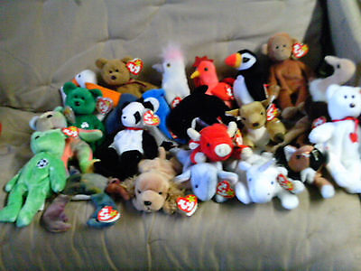 Ty Beanie Babies Retired lot