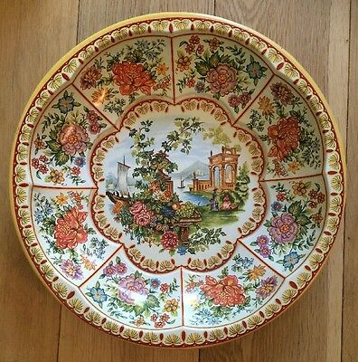 Vintage Daher Decorated Ware Tin Bowl