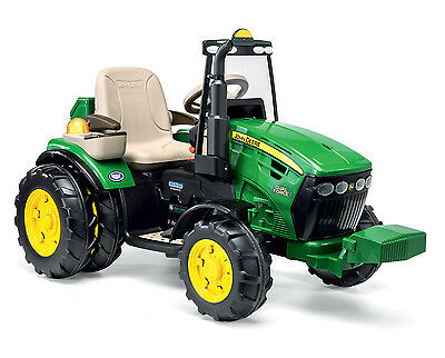 ride-on toy electric tractor 12V John Deere Dual Force IGOR0077 Peg Perego