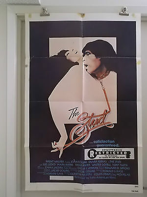 THE STUD 1 one sheet movie poster JOAN COLLINS OLIVER TOBIAS 1979 original