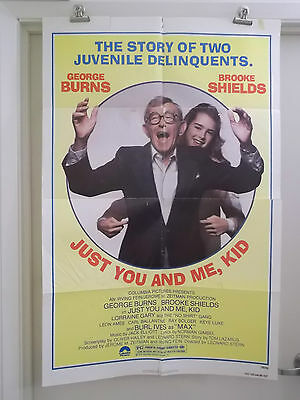 JUST YOU AND ME KID 1 one sheet movie poster GEORGE BURNS BROOKE SHIELDS 1979