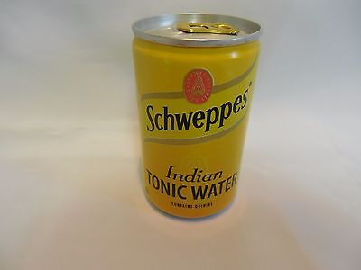 Schweppes Indian Tonic Water Can (Empty) 150ML London England