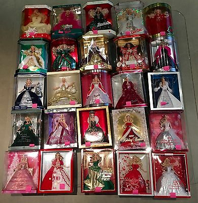 Happy Holiday Barbie Collection  (1989 - 2013) NRFB