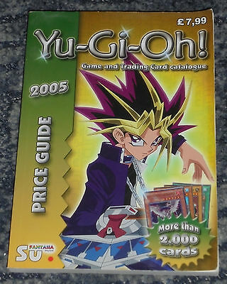 Yu-Gi-Oh Card Collectors Guide Book.