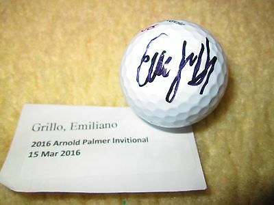 Emiliano Grillo Signed TaylorMade Golf Ball