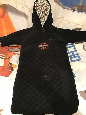 Harley Davidson Baby All In One Coat Suit