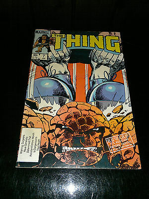 Marvel The Thing – 7 – Jan 1983 - Beware! It's Assistant Editor's Month!