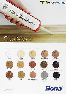 Bona Gap Master Filler/Sealant for Flooring - Available 15 colours