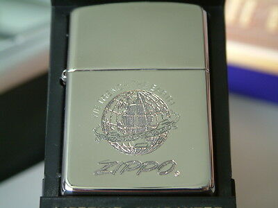 Ultra Rare Silver Plated Zippo Lighter Made In 1995. New/unused.