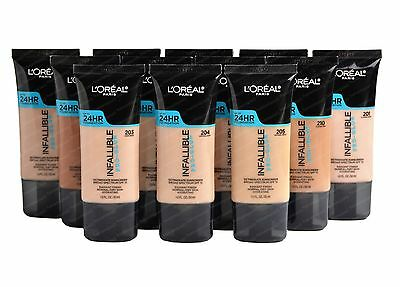 L'oreal INFALLIBLE Pro-Glow Foundation 24Hr Broad Spectrum SPF 15, Pick A Shade