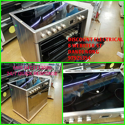 Euromaid 90cm Stainless Steel Feestanding Oven  Factory Second we open 7 days