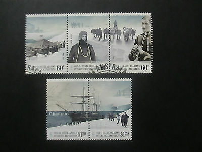 --2012  Aat Cent; Of   Expeditions --5  Stamps  F/s  --Cancelled --A1