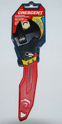 Crescent 8 In. Ratcheting Adjustable Wrench ATR28 Pivoting Jaw NEW