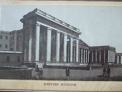 Antique Print C1800S British Museum Engraving History England