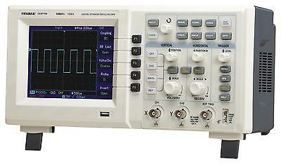 Tenma 72-8710A 100mhz 2 Channel Digital Oscilloscope With 1gs/s Sampling Rate
