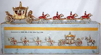 John Hill & co johilco set Coronation coach Boxed Toy soldiers soldatini