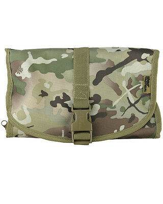 KOMBAT ARMY STYLE Wash Bag - BTP  Washbag Pouch Hanging Military Cadet Camping
