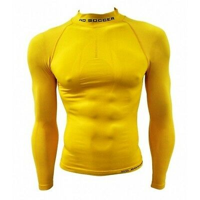 Camiseta Termica Junior M/l Amarillo