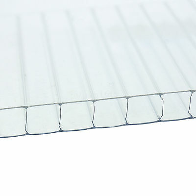 4mm Polycarbonate Sheet For Use In Greenhouses & Greenhouse Glazing Clips