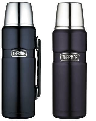 Thermos Stainless King Flask Blue 1.2L or 0.47L