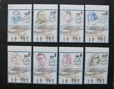 TURKS & CAICOS 2000 Battle of Britain Aircraft Set of 8 Mint Never Hinged SG1617