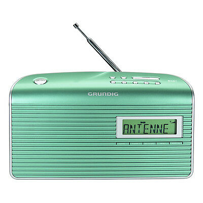 Grundig Digitalradio Music 7000 DAB+ mint / silber
