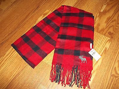 Abercrombie Kids Heritage Boys Girls Winter Scarf BNWT