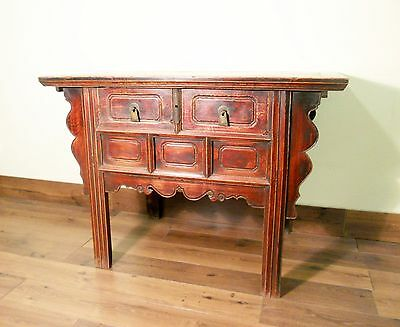"""Antique Chinese Ming """"Butterfly"""" Coffer (5613), Circa 1800-1849"""