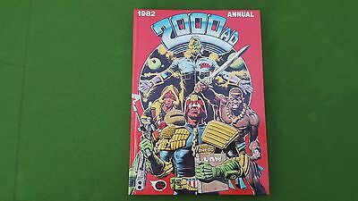 Vintage 2000AD Annual 1982 Judge Dredd etc Hardback