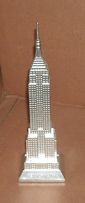 1/2000 Scale Empire State Building Model - New York Skyscraper Highrise Building