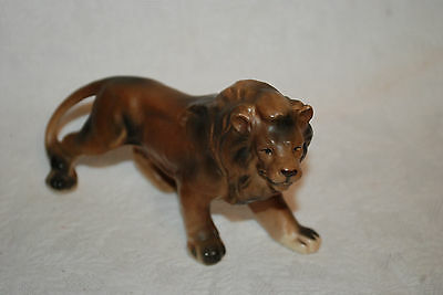 Vtg  CERAMIC LION FIGURINE ~ Made in JAPAN ~