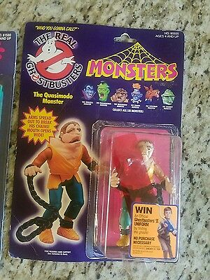 THE REAL GHOSTBUSTERS MONSTERS The Quasimodo Monster Kenner 1986 New Great Shape