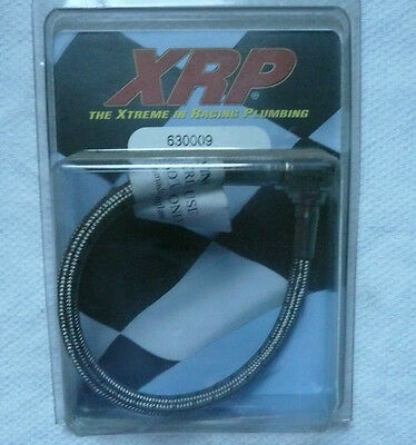 "Legends Race Car, SS Braided Line Dash 3 x 9"" Straight / Female Both Ends 630009"