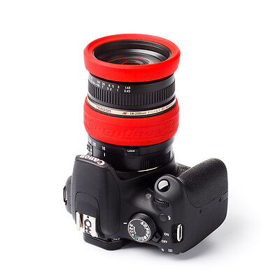 easyCover Lens Rim 67mm Red Lens Protection System Free US Shipping!