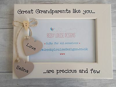 Great Grandparents Are Precious...Photo Frame 6X4 5X7 8X6 10X8 QUICK DISPATCH