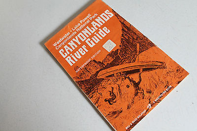 Vtg Paper Ephemera Booklet Westwater Lake Powell Canyonlands River Guide Map