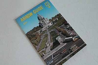 Vintage Paper Ephemera Booklet Brochure Arrow Guide Quebec St Joseph Oratory