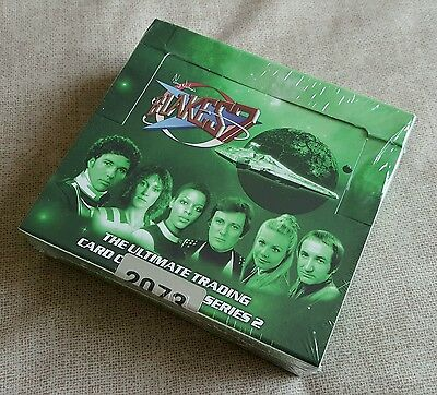 Unstoppable Cards Blake's 7 Series 2 Factory Sealed Trading Card Box