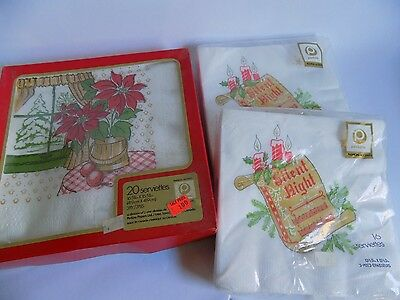Vintage Christmas Decor Napkins Boxed and Packaged Perkins Canada