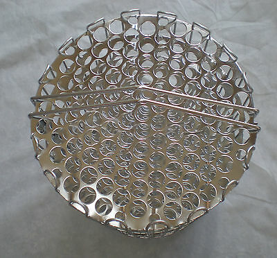 clamshell basket, 6 head, stainless steel, pressure fryer, 5001429