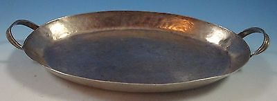 Early Spanish Colonial Mexican Mexico Coin Silver Tray (#1428)
