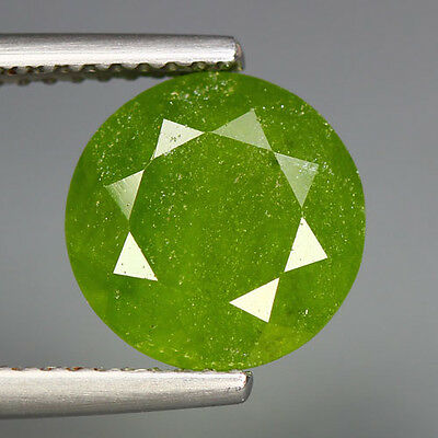 3.66 Cts_Amazing Rare Stone_100 % Natural Hydro Grossular Green Garnet_Africa