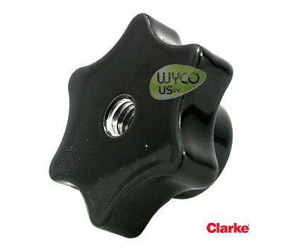 Oem Clarke, Squeegee Assy Top Knob, 3/8-16, Large Focus, Encore, 25201A, 5C8