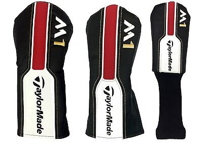 TaylorMade Golf M1 Driver Fairway Hybrid / Rescue Head Covers