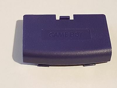 Purple Battery Cover Nintendo GameBoy Advance Replacement New GBA Game Boy