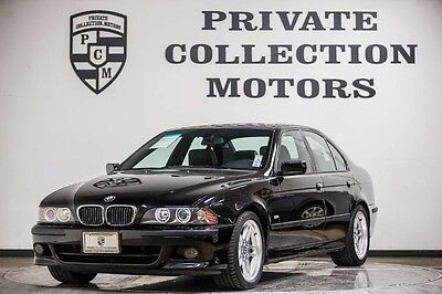 2003 BMW 5-Series Base Sedan 4-Door 2003 BMW 540i Low Miles Super Clean Full Service Just Complete