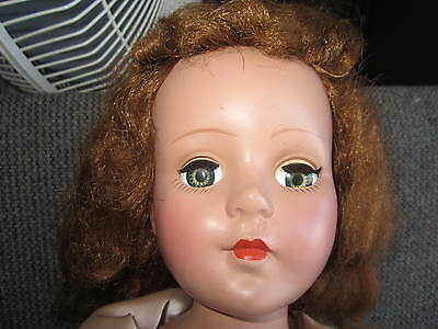 "20"" sweet sue hard plastic girl 1950s doll"