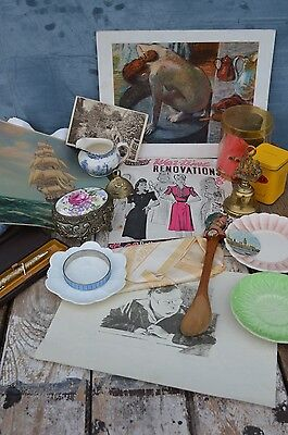 Clearance Bundle Mixed Different Vintage Collectables Curios Items Job Lot #9