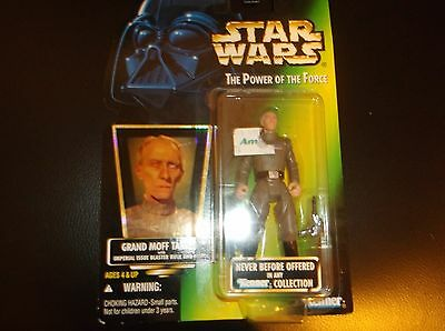 1996 Star wars Figure Grand Moff Tarkin The power of the force 1996