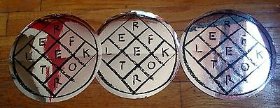 "Arcade Fire 7"" Reflektor Sticker 3 Pack RARE Promo Only"